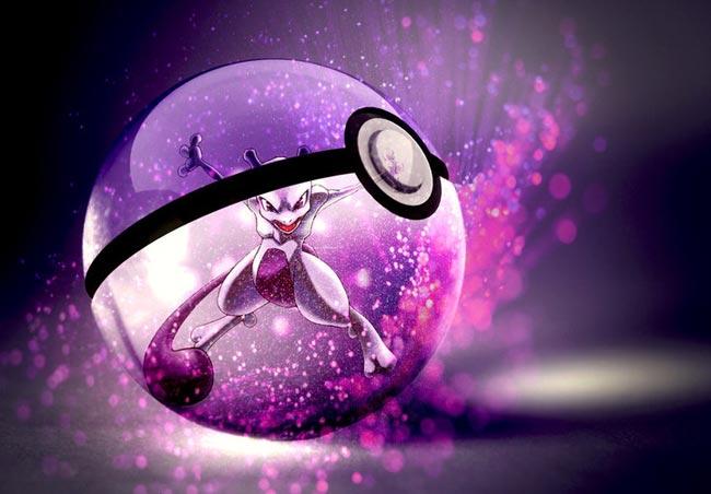 唯美奇幻精灵球12(超梦)