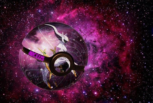 唯美奇幻精灵球1(阿尔宙斯)