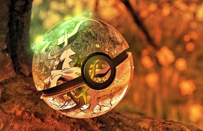 唯美奇幻精灵球6(阿尔宙斯)