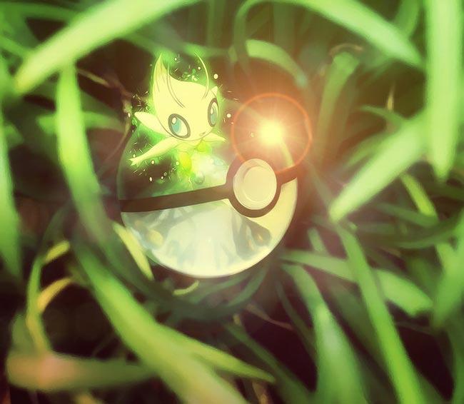 唯美奇幻精灵球8(雪拉比)