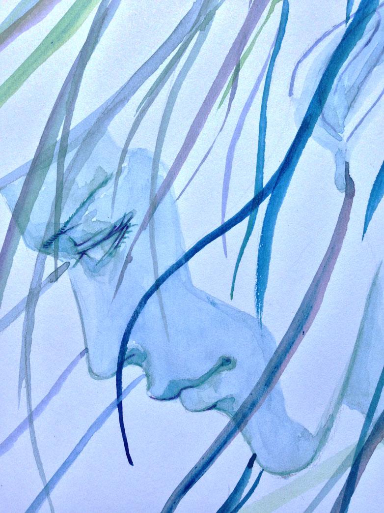 怪兽大学水彩画水粉画-小妖精的水彩画册 822